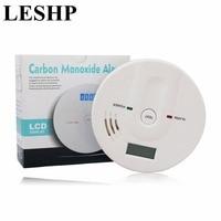 LESHP 85dB Warning Independent Sensitive LCD Display CO Gas Sensor Carbon Monoxide Poisoning Alarm Detector For