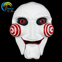 Saw Mask the Movie Theme Horror for Party Halloween Christmas Cosplay Resin Mask Adults Full Face Free Shipping