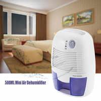 INVITOP Mini Deumidificatore per la Casa Portatile 500ML di Umidità di Assorbimento Essiccatore Ad Aria con Auto-off e indicatore LED di Aria deumidificatore