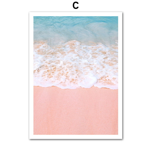 HTB1nrV XinrK1Rjy1Xcq6yeDVXa3 Canvas Painting Beach Ship Sea Wall Art Nordic Posters And Prints Pineapple Home Decoration Pictures For Living Room