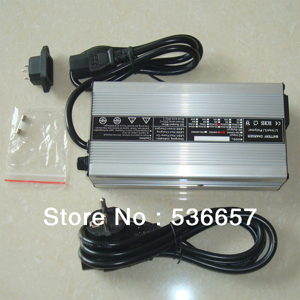 Free Shipping 13S li ion battery 48v 5a charger 54 6V 5A 300W lithium ion Battery