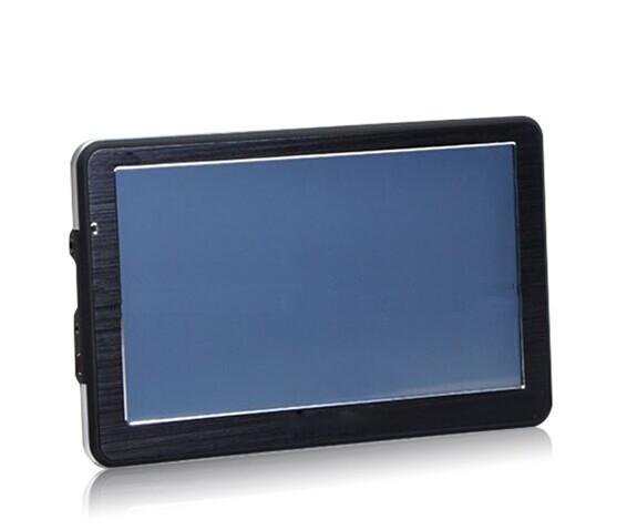 Nuevo 7 pulgadas HD navegación GPS del coche FM 32 GB / 128 M DDR / 800 MHZ 2015 mapa actualización gratuita 2.5AV interfaz moda de la alta capacidad