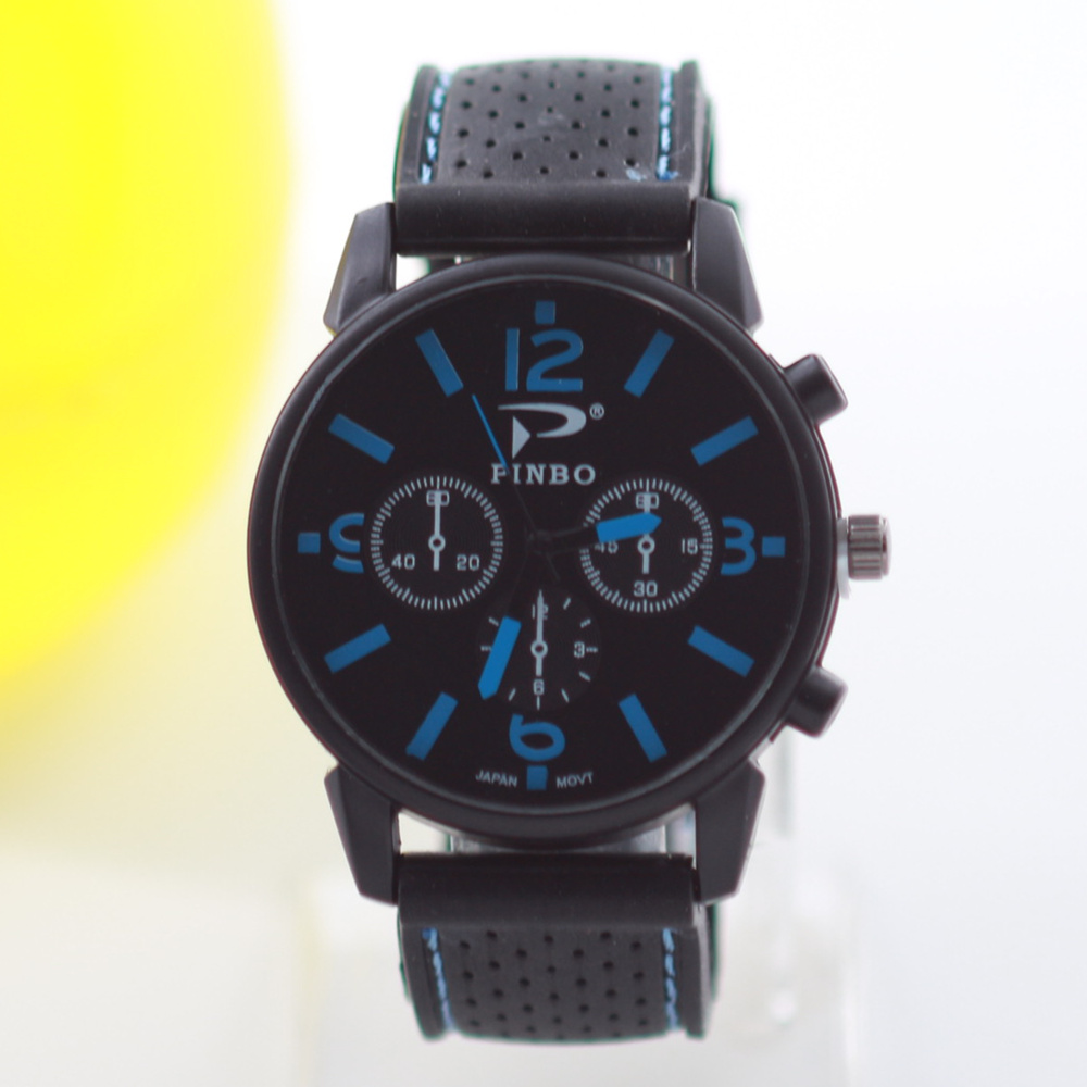 Buy top brand outdoor casual men 39 s sports watches mens watches silicone quartz for Outdoor watches