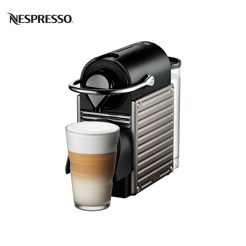 Coffee machine Nespresso Pixie C60 home intelligent fully automatic american style coffee machine drip type small is grinding ice cream teapot one machine