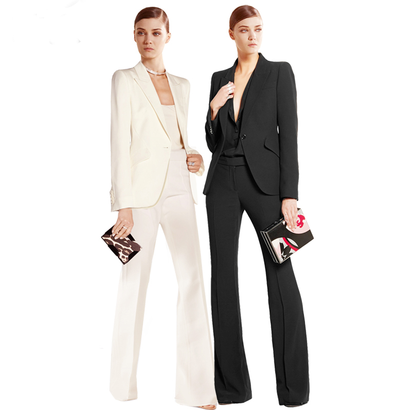 Fashionable Women Suits Women Work Clothes Hand Tailored Women Ladies Custom Made Business Office Tuxedos Work Wear Suits