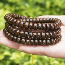 New Fashion 8mm 9mm 110PCS Natural Color Coconut Shell Beads Loose Spacer For Jewelry Making DIY Bracelets & Necklaces Wholesale