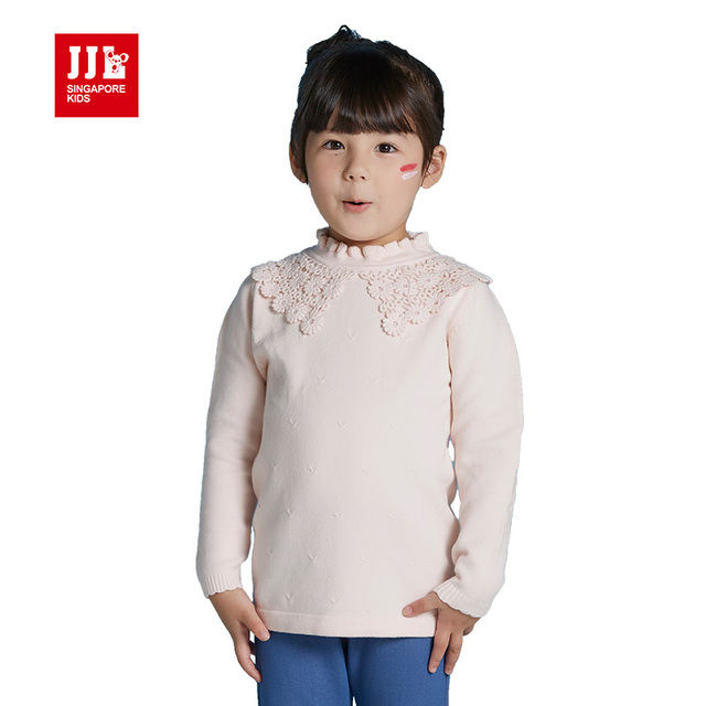 girls winter tops children sweater princess girls sweater lace designed kids clothes 2016 brand kids tops kids clothes brand