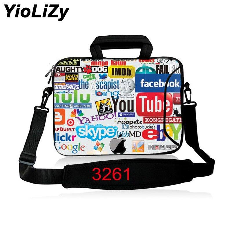 Laptop shoulder Case 10 12 13 14 15 17 Notebook sleeve handbag 11.6 13.3 14.1 15.6 17.3 Messenger bag cover briefcase SB-3261
