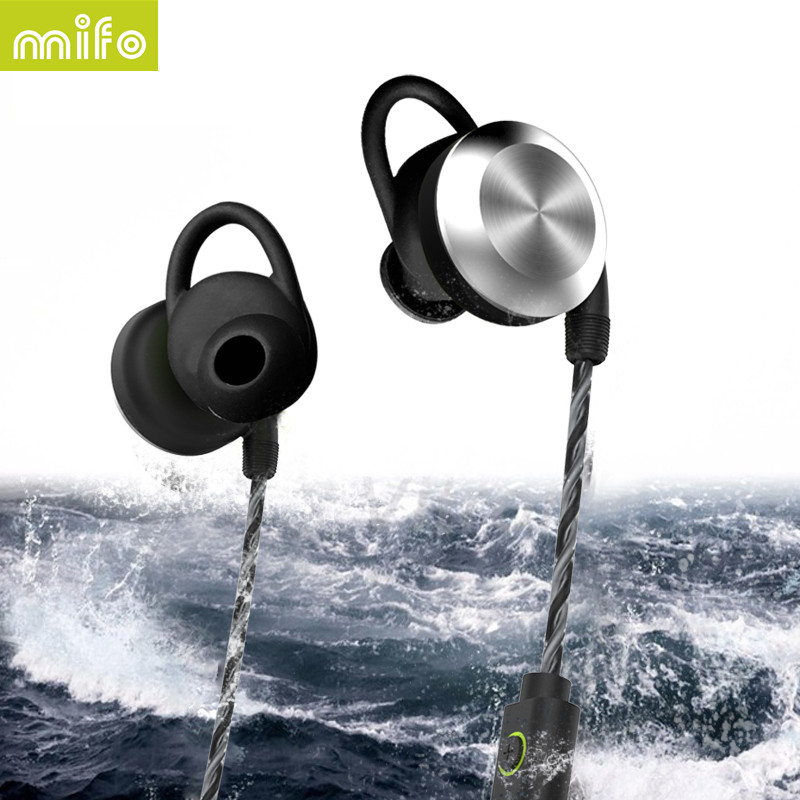 mifo U2 Bluetooth Earphones Wireless earphone Sport Waterproof Magnet Design Headset Stereo Hifi Earbuds With Mic for xiaomi
