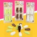 4 Pçs/set Produtos da Segurança da Criança Cuidados Com o Bebê Gaveta Mão Anti pitada Dispositivo de Seguridad de Segurança da Segurança Do Bebê Gabinete Locks Straps