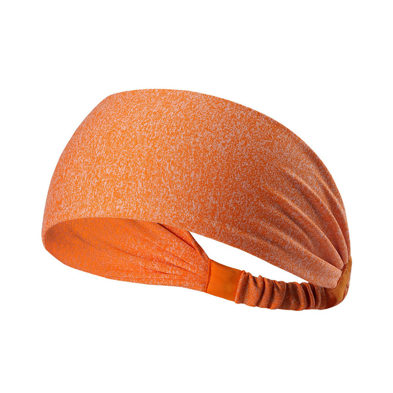 New Wide Sports Headbands Breathable Durable Stretch Elastic Yoga Running Headwrap Hair Band Sports Safety Sweatband #4S19 (2)