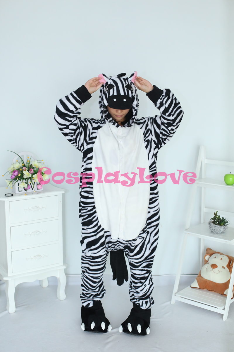 Popular Zebra Onesie Cheap Adults