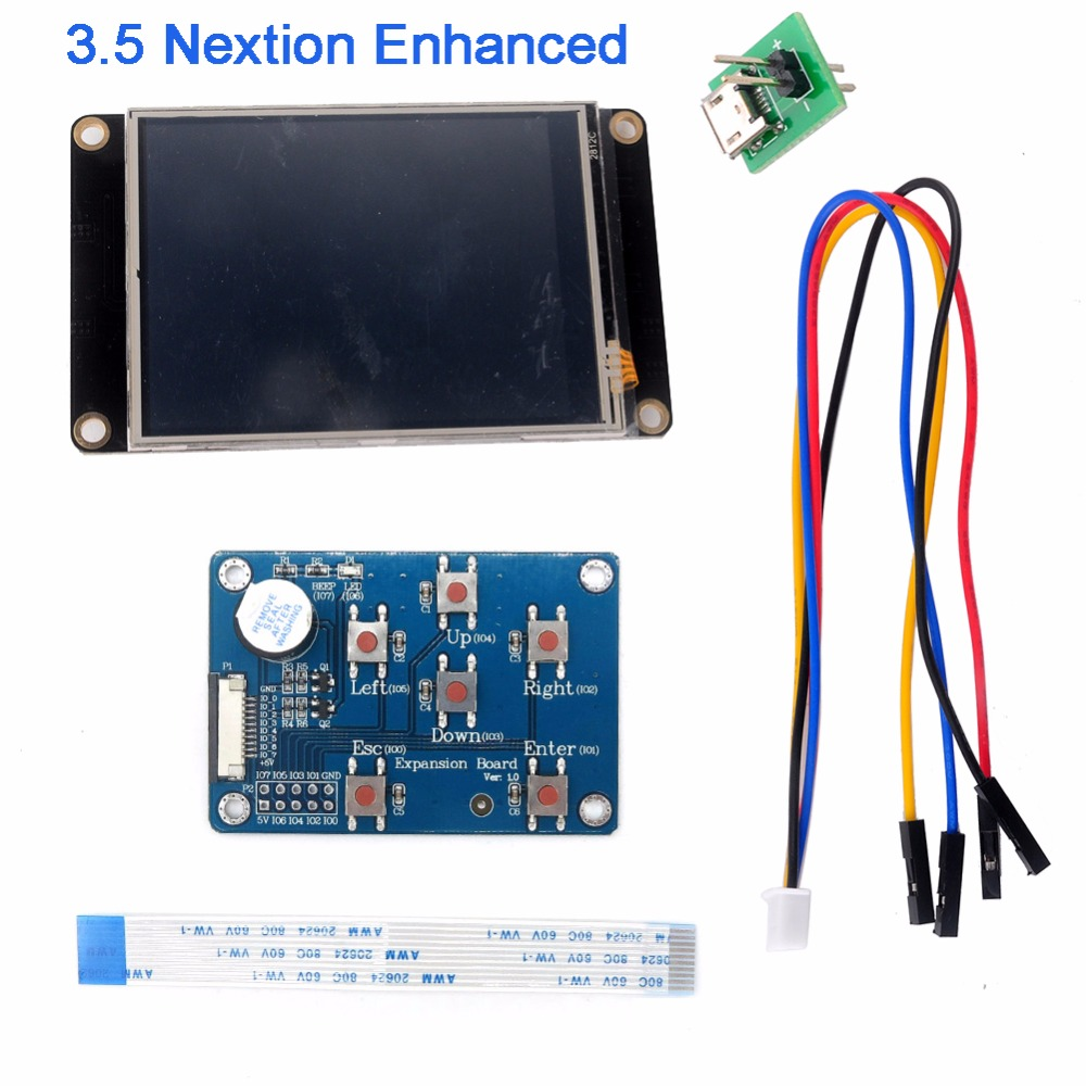Nextion Enhanced 3.5 3.5 inch UART HMI Smart LCD Module Touch Display with Expansion Board for Arduino Raspberry Pi FZ1753E