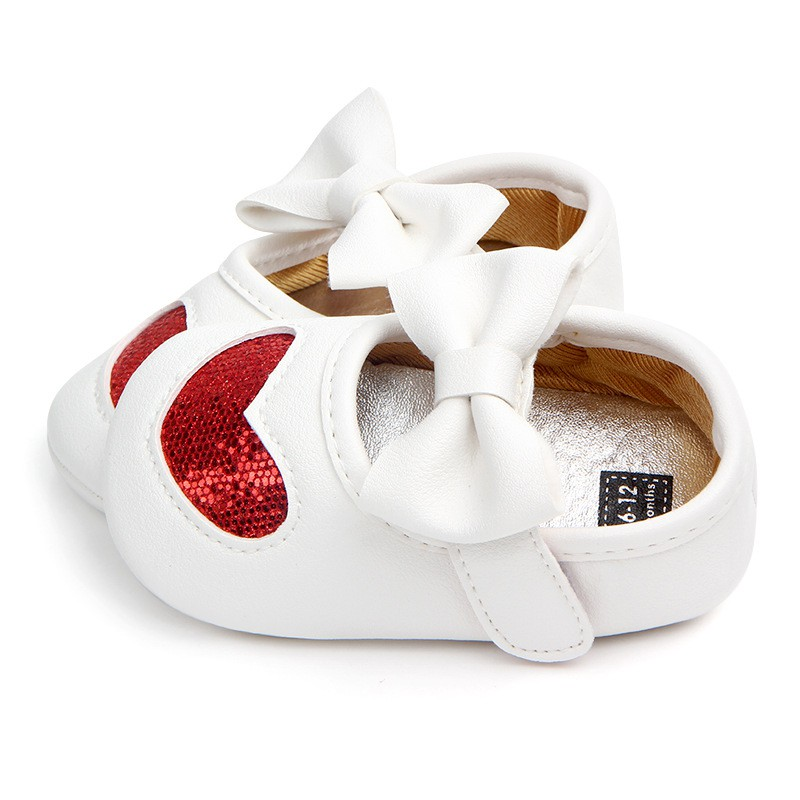 Spring Autumn Cute Baby Butterfly knot Soft Non slip Synthetic Leather Baby Children  Shoes Girl Princess Shoes Y13-in First Walkers from Mother   Kids 4320bbad080e