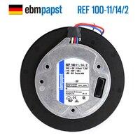 Новый ebmpapst ПАПСТ REF100 11/14/2 100*25 24 В центробежный ФФУ Вентилятор охлаждения