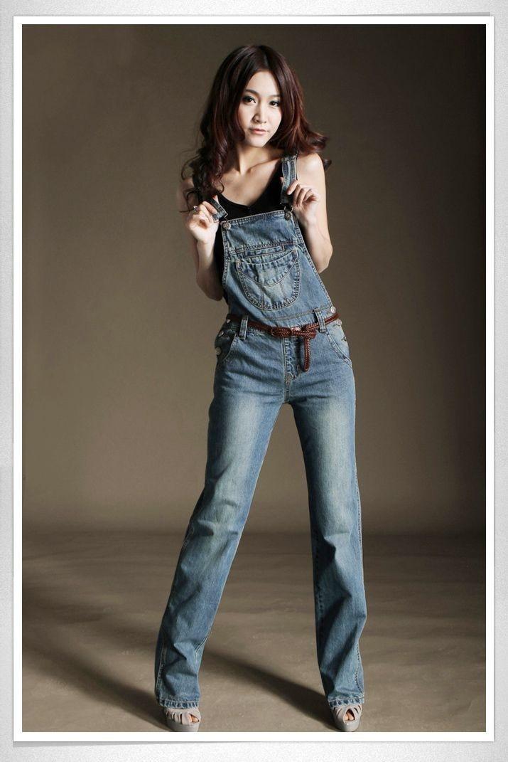 Online Buy Wholesale denim jean overalls from China denim ...