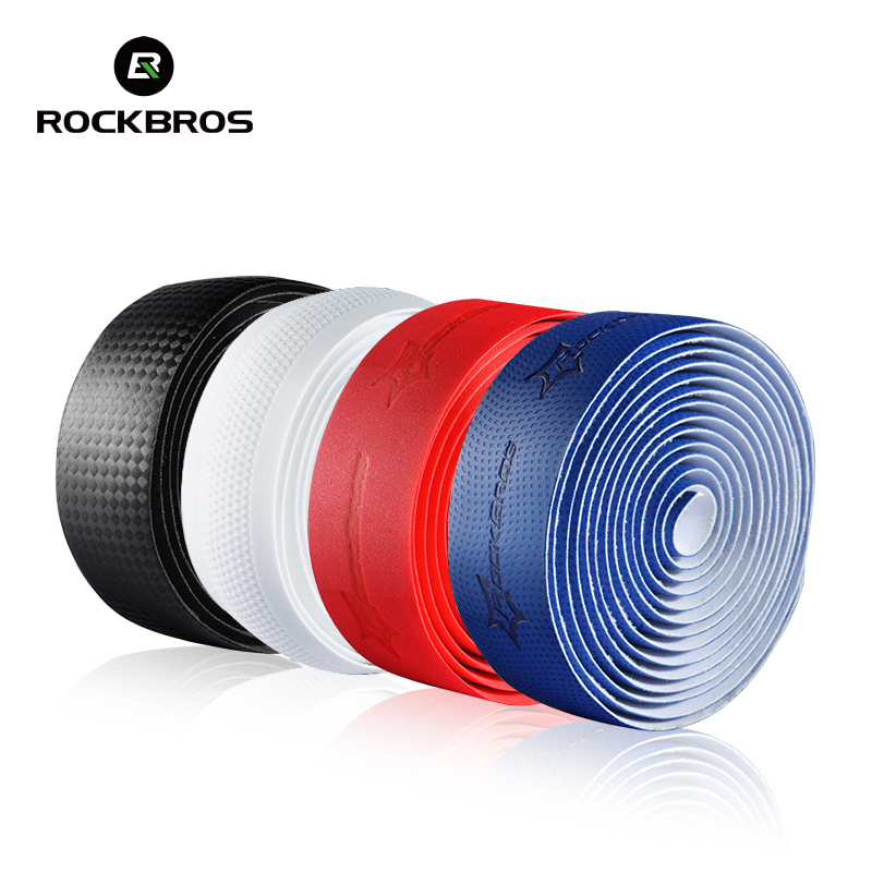 Rockbros Bicycle Handlebar Tape 2018 PU Road Bike Bent Tape PRO Anti-slip Anti-sweat Racing Cycling Hand Bar Tape Accessories стоимость