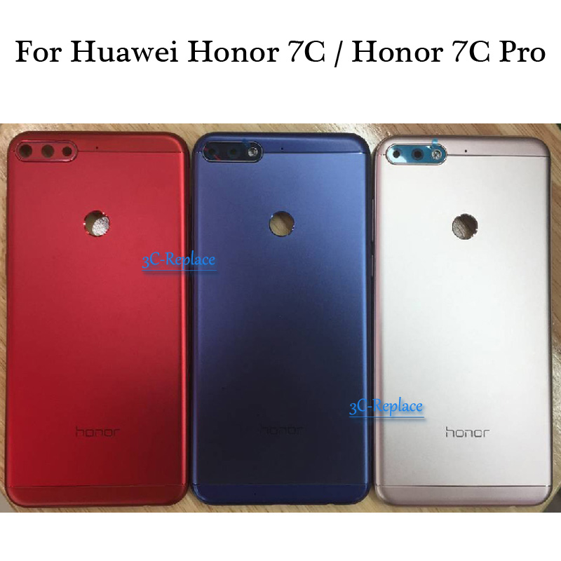 Cover Honor LND-L29 Door-Housing-Case Back-Battery Rear-Glass-Parts Huawei for 7c/pro