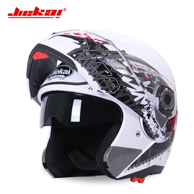 NEWJIEKAI 105 model Motorcycle Flip up Helmet Racing Summer Winter Dual Lens Visor Moto Motorbike Motor