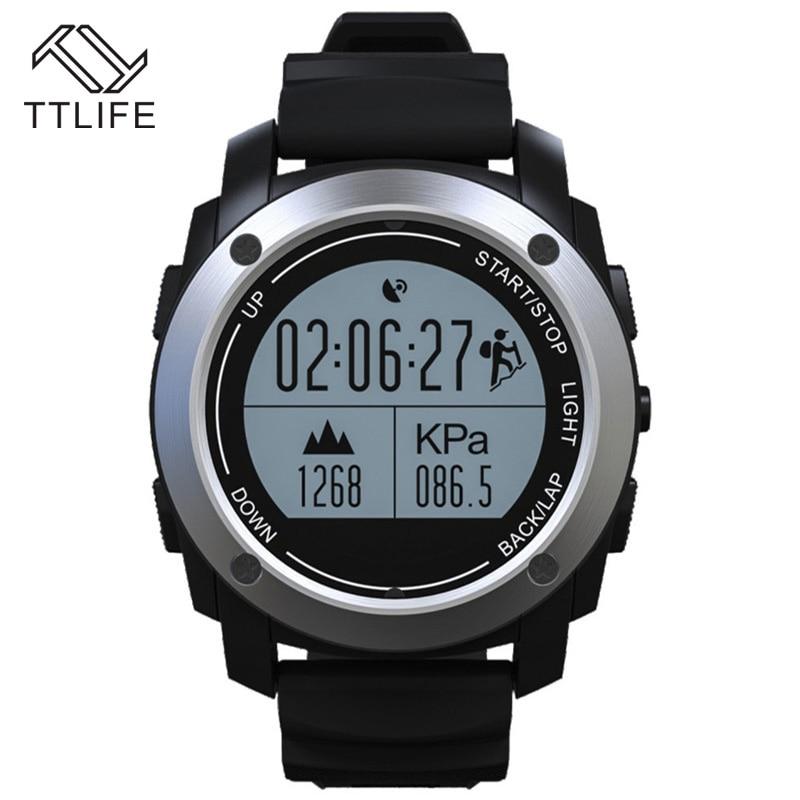 Hot Sale Waterproof Multi lingual Bluetooth font b Smart b font Watch Run Heart Rate Monitor