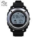 Venda quente à prova d' água multi-lingual bluetooth smart watch run monitor de freqüência cardíaca gps rastreador de fitness e lembrete de chamada de temperatura