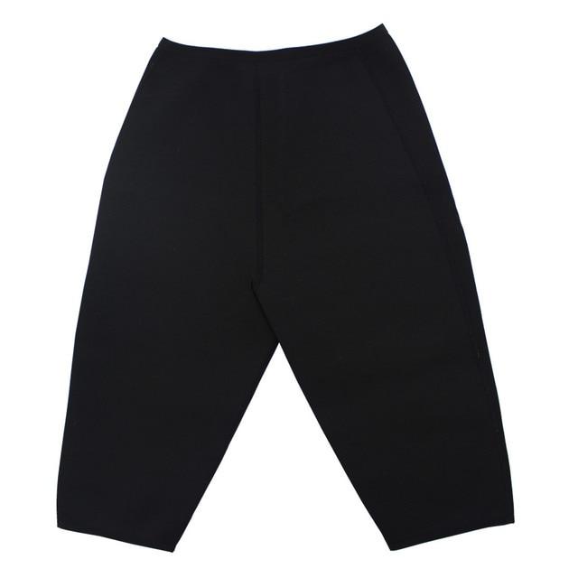 RiauDe Neoprene Sweat Shaper Pants&Belt &Short Sleeve shaperwear Super Stretch control Slimming Pants&T-shirt&Shapers belts Set 4