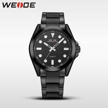 купить WEIDE Genuine Quartz Sport Water Resistant Watches Brand Luxury Men Analog Clock Black waterproof Stainless Steel Watch WH802 по цене 1055.97 рублей