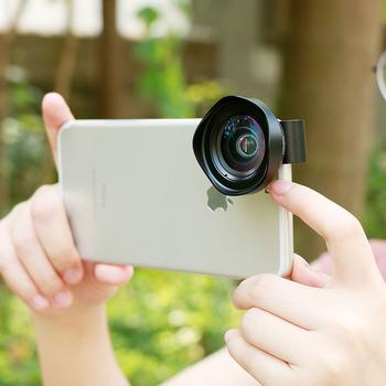 Profesjonalny szerokokątny aparat telefoniczny obiektyw 16mm 4K HD DSLR efekt obiektywy telefoniczne dla iPhone XS X 8 iPad Pro Huawei P20 Pro Xiaomi tanie i dobre opinie ulanzi wide-angle lens iPhone X iPhone 8 Plus iPhone 7 Plus 6 6S 6 Plus 6S Plus Samsung Ga