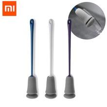 XIAOMI Mijia KISSKISS FISH 3 шт. губка чашка щетка с длинной ручкой сменный инструмент для очистки кухни мягкая губка для очистки