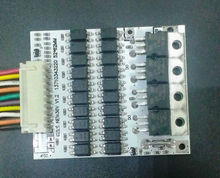 10s 36v Battery Protection BMS PCB Board for 10 Packs 36V Li-ion Cell max 40A with Balance Modified electric car