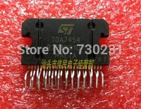Free Shipping One Lot 1PCS ST TDA7454 TDA 7454 Integrated Circuit IC B29