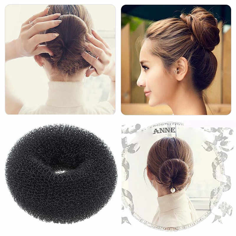 2pcs Black Color Women Girls Easy Hair Styling Tool Bun Elastic Bands Braided Hair Tool Braiding Hair Tool Hair Styling Toolsstyling Tools Aliexpress