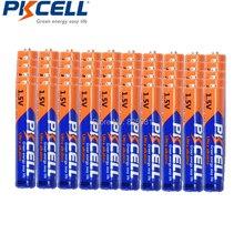 50 шт., щелочные батареи PKCELL AAAA LR61 AM6 1,5 в, батареи E96 LR8D425 MN2500 MX2500 4A для Bluetooth наушников и будильников