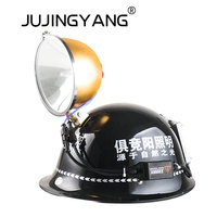 JUJINGYANG Spotlight 100W stronglight long distance searchlight outdoor lamp HID xenon helmet lamp hunting flashlight