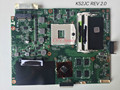 Hot k52jc rev 2.0 motherboard k52jt 60-nzimb1200 entrega rápida totalmente testado para asus k52j a52j