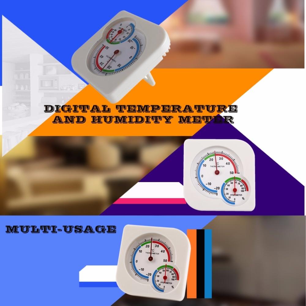 ACEHE Naujasis mini termometras, drėgmės matuoklis, drėgnasis, - Matavimo prietaisai - Nuotrauka 2