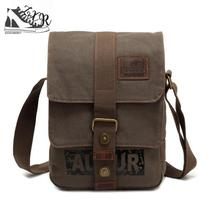 Zuoxiangru Stylish Crossbody Bag Multifunctional Men Canvas Single Strap Bag  All-match Satchel Shoulder Bag 7e7722b7be342