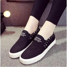 New Free Shipping Women's fashion Flat Shoes Women Loafers Casual Canvas Shoes Flats Heels Out-door Comfortable Driving Shoes
