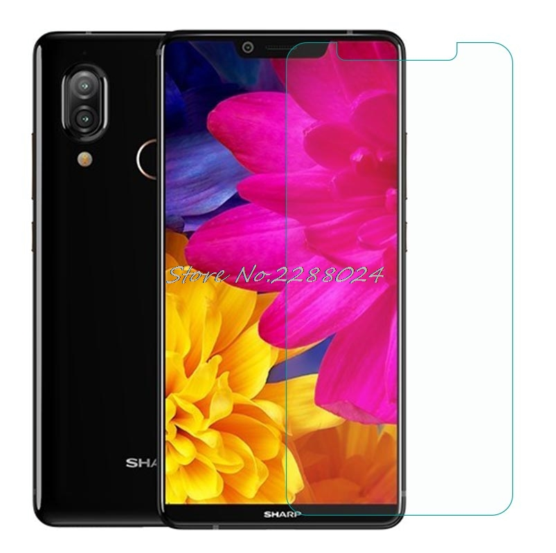 """Tempered Glass For Sharp Aquos S3 6"""" Glass Screen Protector 2.5D 9H Premium Tempered Glass Protective Film"""