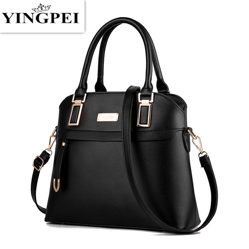 YINGPEI Women Bags Casual Tote Women PU Leather Handbags Fashion Shoulder Bags Women Messenger Crossbody Bags Designer Bag