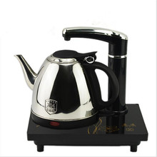1200W Silver Touch Screen Stainless Steel Intelligent Electric Safety Auto-off Function Kettle Automatically Electric Tea Stove