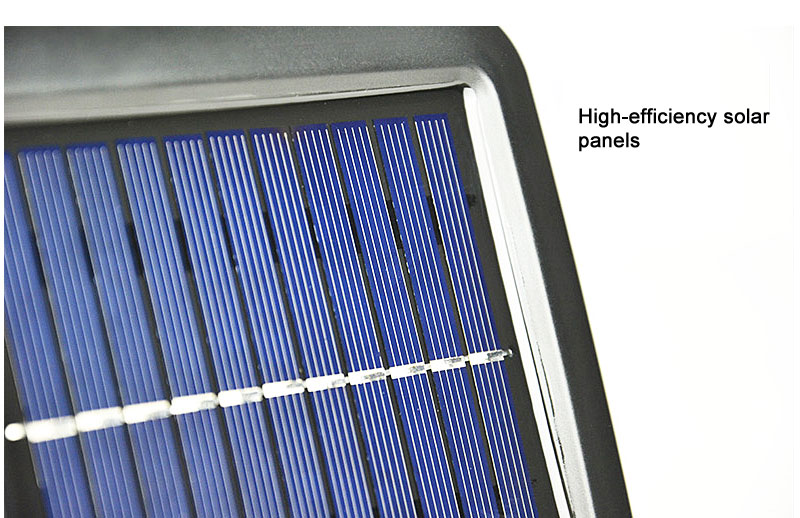 Waterproof Outdoor Solar Wall Light with 56 LED with PIR Motion Sensor for Garage and Yard 10