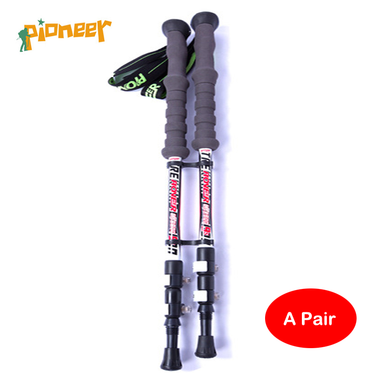 POINT BREAK Pioneer two pieces [Portland - 9] Brave Heart Carbon Outer Lock Outdoor Super Light alpenstock With Rod Package