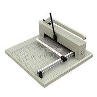 Максимальная ширина 43 см ручной резчик бумаги триммер Настольный ручной станок для резки бумаги 5 см толстая бумага режущий инструмент 4305