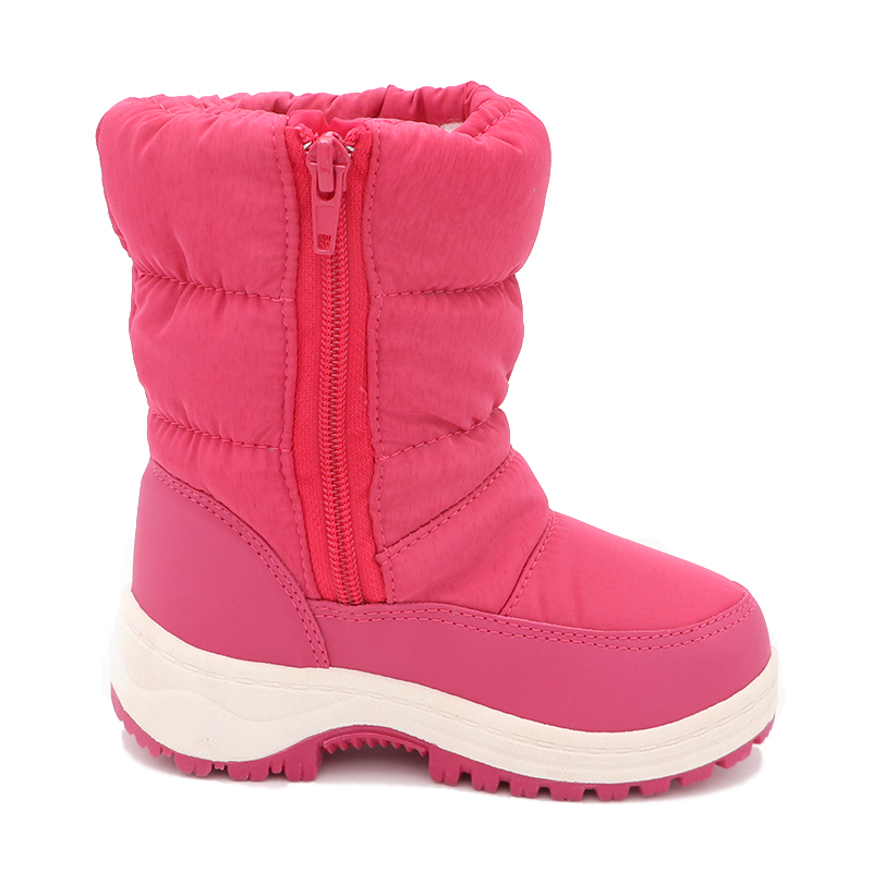 Image 2 - Cute Eagle Winter Girl's Nonslip Snow Boots Kids Mountaineering Skiing Warm Snowshoe School Outdoor Activities Eu Size 22 33-in Boots from Mother & Kids