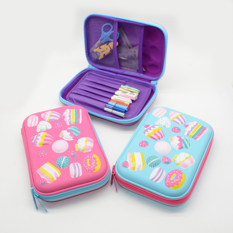 cake pencil case unicorn kalem kutusu Kawai estuche escolar pencilcase EVA trousse scolaire stylo astuccio scuola stationery цена 2017