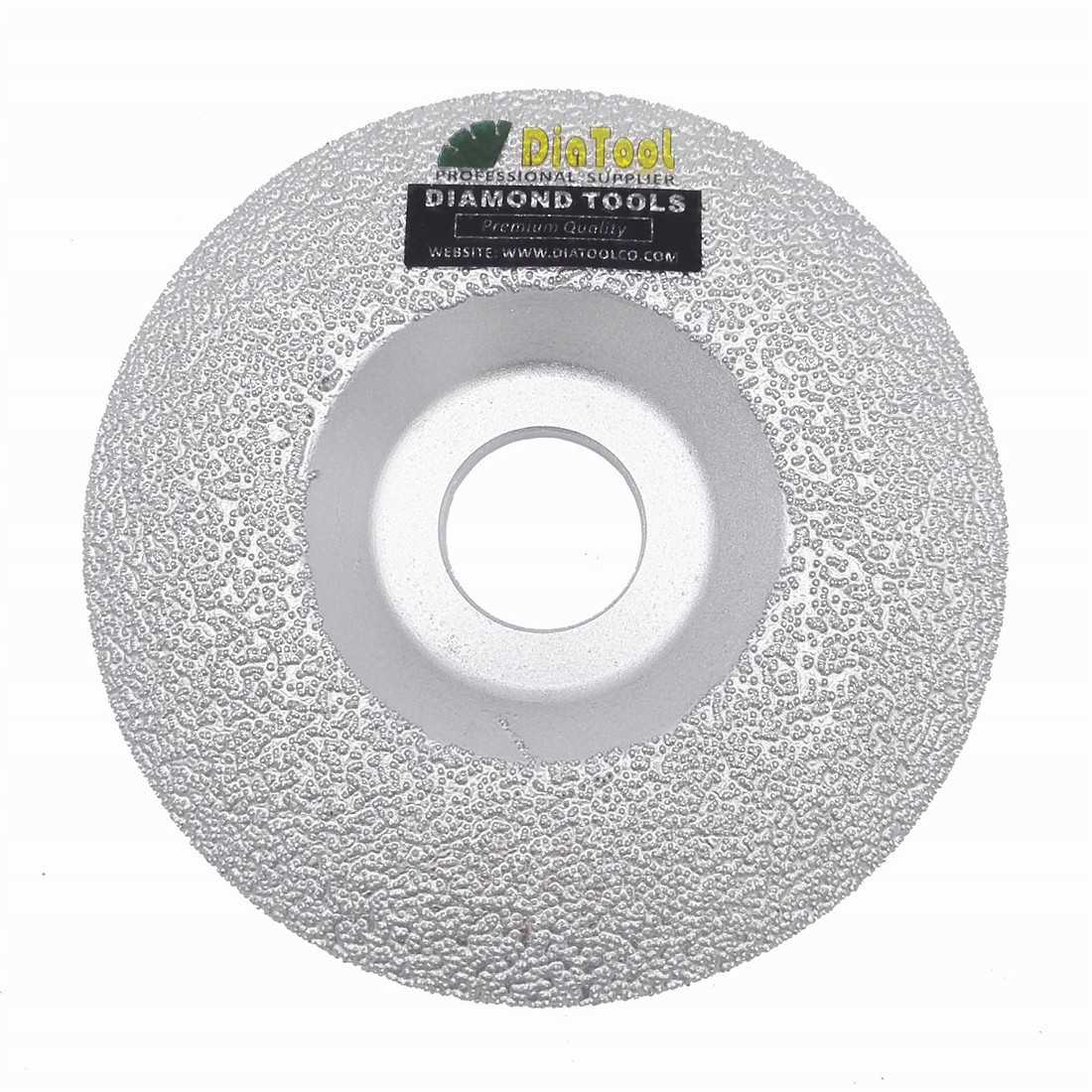 DIATOOL Vacuum Brazed Diamond Grinding Cup Wheel For All Stone And Construction Material Diamond Cup On Stone