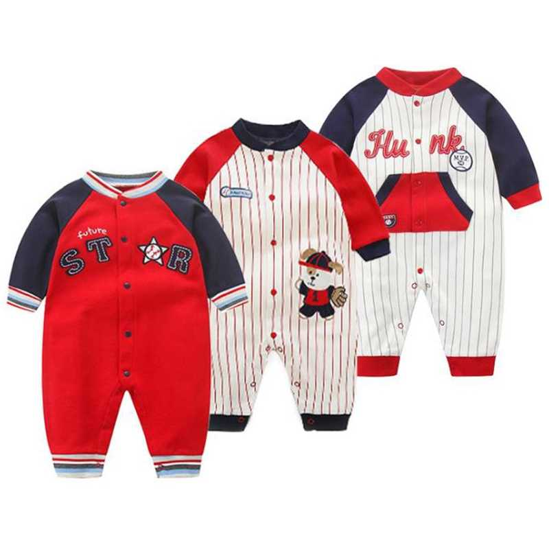 Newborn baby clothes cotton comfortable baby romper long sleeve baby romper baby boy girl clothes ropa bebe recien nacido 0-18M