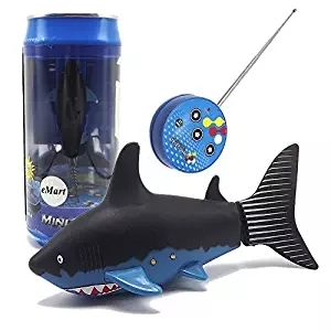 Image 2 - NEW Mini RC Shark Remote Control Animal Simulation Submarine Toys For Children Play Bath