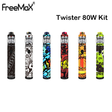 Original FreeMax TWISTER 80W Kit TWISTER Mod Battery 2300mah With Fireluke 2 Tank 5ml Fit X1 Coil Electronic Cigarette Vape Pen